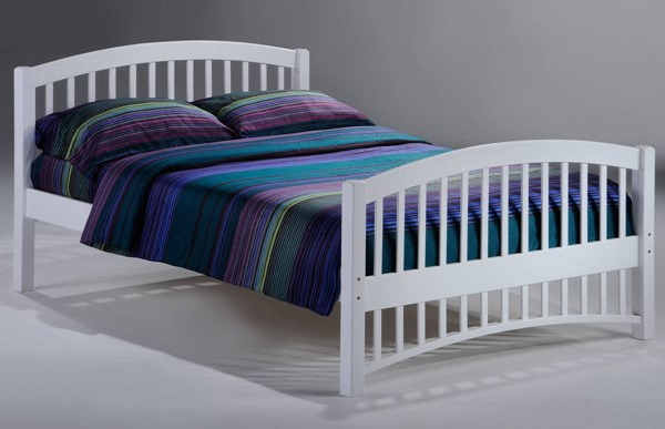 Night And Day Furniture Molasses White Full Bed NDF-YHF-MOL-FUL-WH-COM