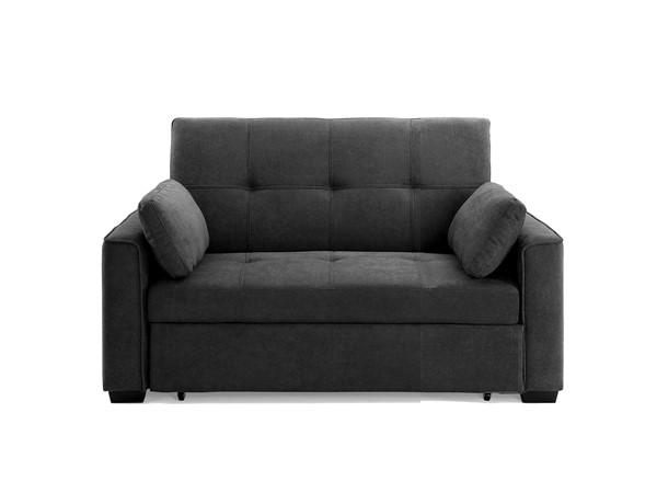 Night and Day Furniture Nantucket Charcoal Full Sofa Bed NDF-NAN-FUL-CC