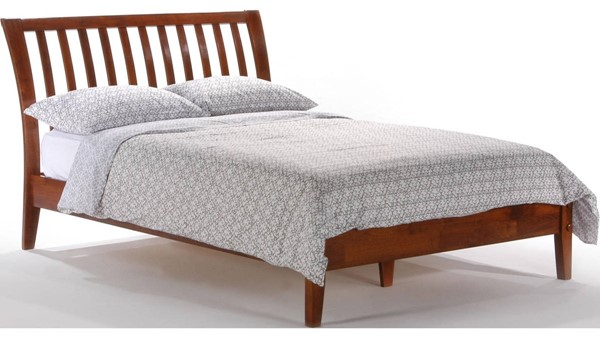 Night And Day Furniture P Series Cherry Twin Nutmeg Bed NDF-NUT-PH-TWN-CH-COM