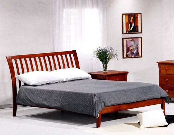 Night and Day Furniture P Series Cherry Twin Nutmeg Beds NDF-NUT-PH-BED-VAR