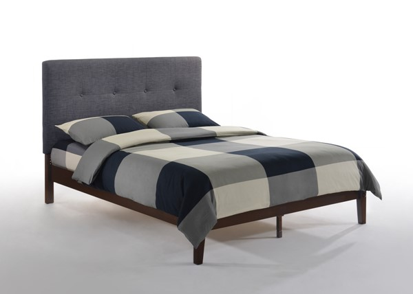 Night And Day Furniture Paprika Charcoal Chocolate Beds NDF-PAP-KH-TF-CC-COM-BED-VAR