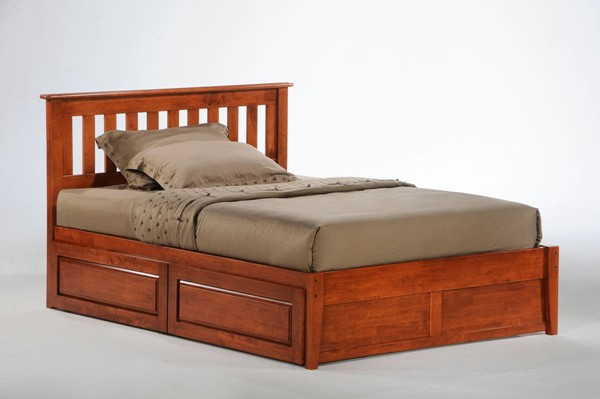 Night And Day Furniture P Series Cherry Rosemary Drawer Beds NDF-RMY-PDR-PH-BED-VAR