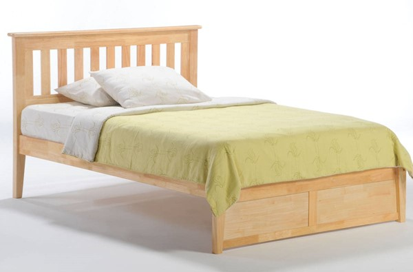 Night And Day Furniture P Series Natural King Rosemary Bed NDF-RMY-PH-EKG-NA-COM