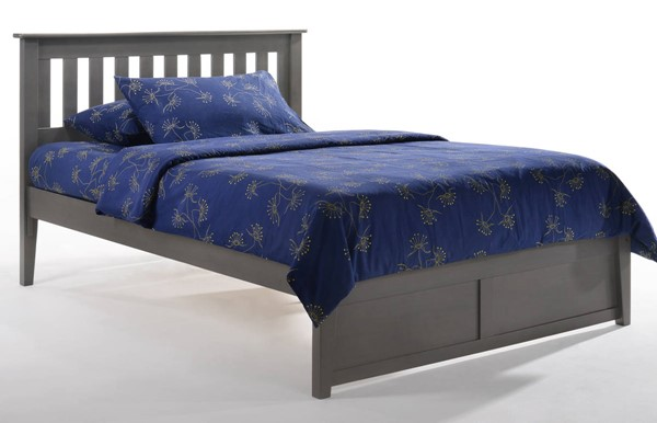 Night And Day Furniture P Series Stonewash Full Rosemary Bed NDF-RMY-PH-FUL-STW-COM