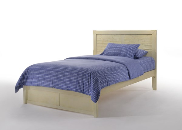 Night and Day Furniture P Series Buttercream Sanddollar Full Bed NDF-SAND-PH-FUL-BC-COM