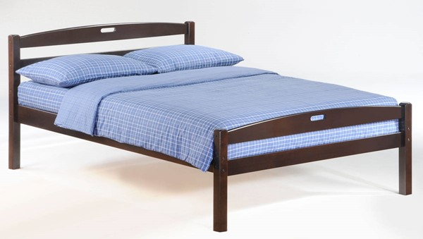 Night and Day Furniture Sesame Chocolate Full Bed NDF-YHF-SES-FUL-CHO-COM