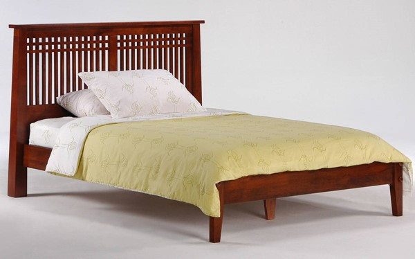 Night and Day Furniture P Series Cherry Queen Solstice Bed NDF-SOL-PH-QEN-CH-COM