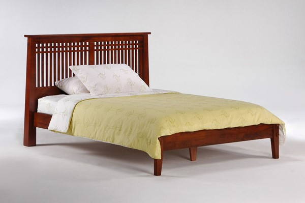 Night and Day Furniture Solstice K Series Cherry Twin Bed NDF-SOL-KH-TWN-CH-COM