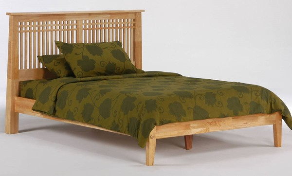 Night And Day Furniture P Series Natural Cal King Solstice Bed NDF-SOL-PH-CKG-NA-COM