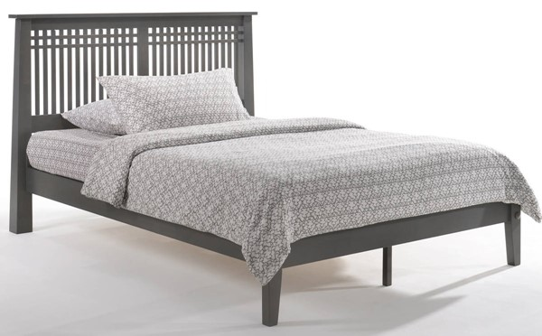 Night And Day Furniture P Series Stonewash Full Solstice Bed NDF-SOL-PH-FUL-STW-COM