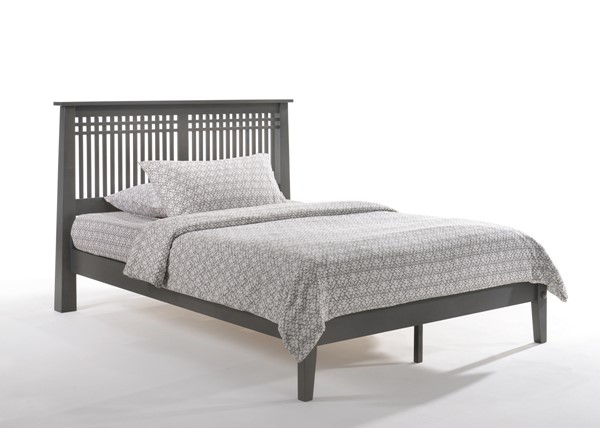 Night And Day Furniture P Series Stonewash Cal King Solstice Bed NDF-SOL-PH-CKG-STW-COM