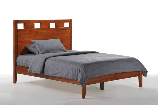 Night and Day Furniture P Series Cherry Queen Tamarind Bed NDF-TAM-PH-QEN-CH-COM