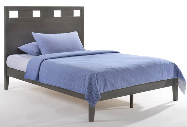 Night And Day Furniture P Series Stonewash King Tamarind Bed NDF-TAM-PH-EKG-STW-COM