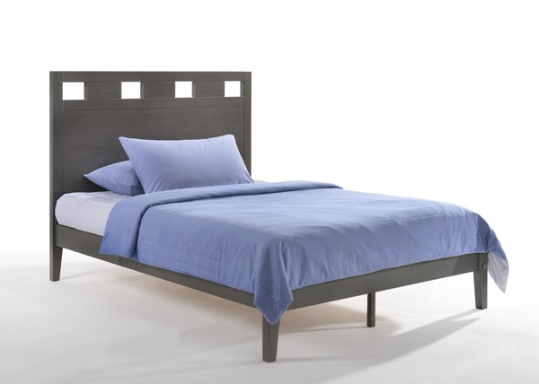 Night And Day Furniture P Series Stonewash Queen Tamarind Bed NDF-TAM-PH-QEN-STW-COM