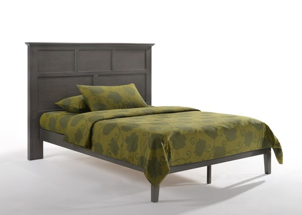Night And Day Furniture P Series Stonewash Queen Tarragon Bed Frame NDF-TAR-PH-QEN-STW-COM