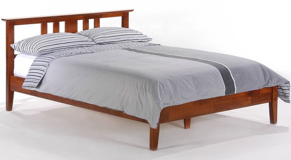Night and Day Furniture P Series Cherry Cal King Thyme Bed NDF-THY-PH-CKG-CH-COM