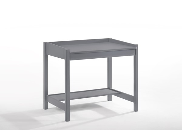Night And Day Furniture Zest Grey Student Desk NDF-YSD-ZES-GY