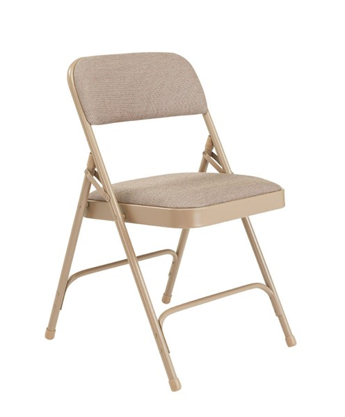 4 NPS 2200 Fabric Folding Chairs NPS-2201-DR-CH-VAR