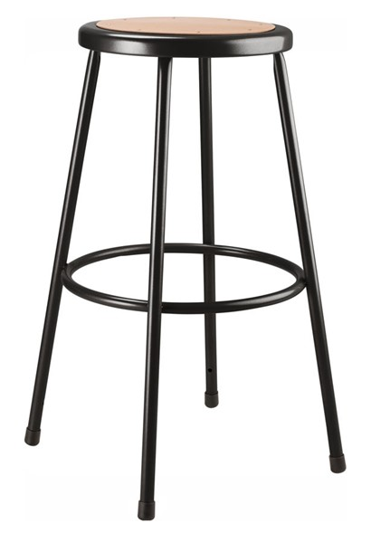NPS 6200 Black 30 Inch Heavy Duty Steel Stool NPS-6230-10