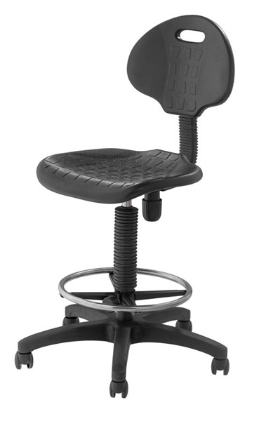 NPS 6700 Black 22 - 32 Inch Height Task Chair NPS-6722HB