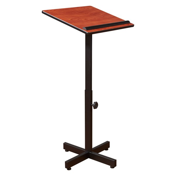 NPS Portable Presentation Cherry Oklahoma Sound Lectern Stand NPS-70-CH