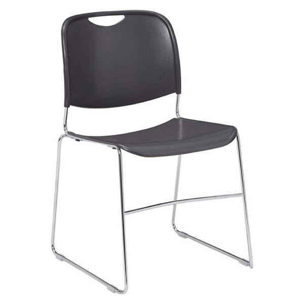 NPS 8500 Chrome Plastic Ultra Compact Stack Chair NPS-8502