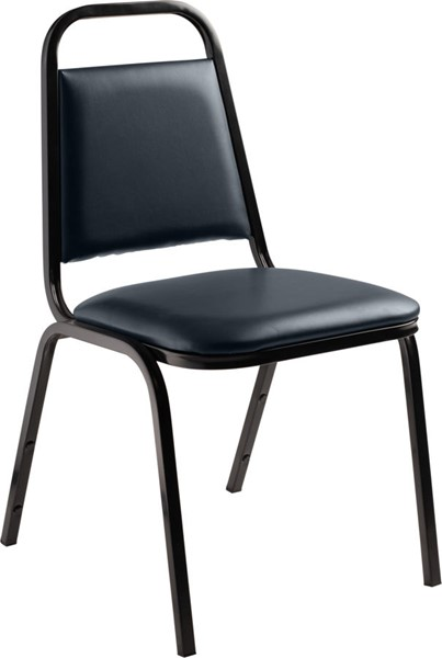 NPS 9100 Vinyl Stack Chairs NPS-9104-DR-CH-VAR