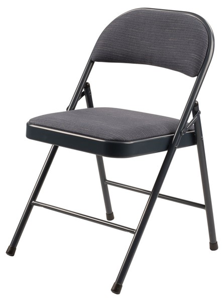 4 NPS 900 Star Trail Blue Fabric Commercialine Folding Chairs NPS-974