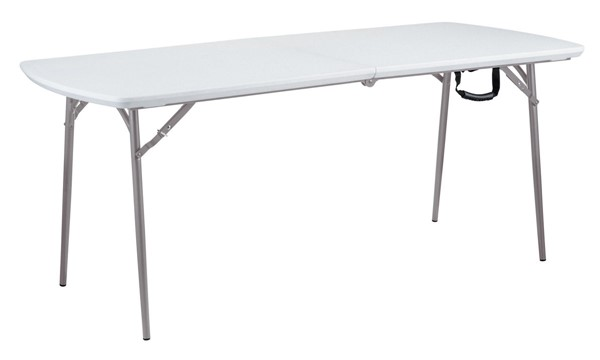 NPS BMFIH Speckled Grey Fold in Half Table NPS-BMFIH3072