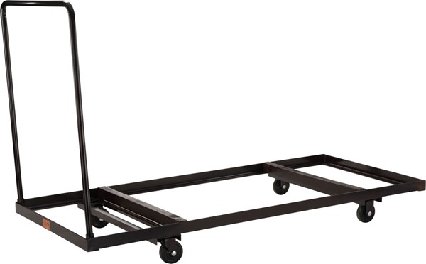 NPS Brown Horizontal Storage Folding Table 72 Inch Dolly NPS-DY-3072