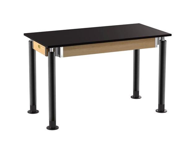 NPS Signature Science Lab Table with Phenolic Top NPS-SLT4-2448P-DESK-VAR