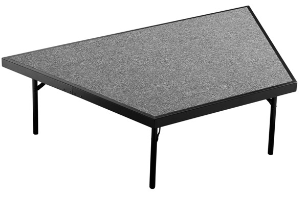 NPS Pie Compatible 16 Inch Carpet Stages NPS-SP3616C-DR-STG-VAR