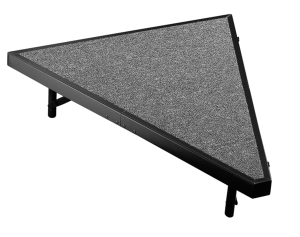 NPS Black Grey Pie Compatible 8 Inch Carpet Stage NPS-SP368C-02