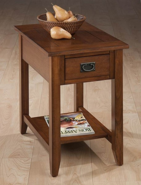 Mission Mission Oak Wood Chairside Table JFN-1032-7