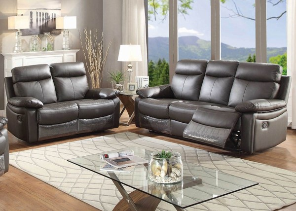 Home Roots Reclining 2pc Living Room Set - 248025 OCN-248025