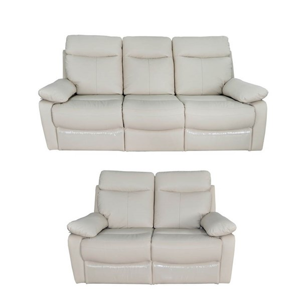 Home Roots Pillow Arm Reclining 2pc Living Room Set OCN-248029