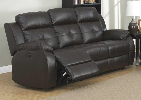 HomeRoots Power Reclining Sofa OCN-248045