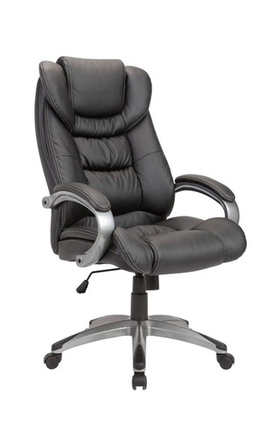 Home Roots Black Adjustable Swivel Office Chair OCN-248169