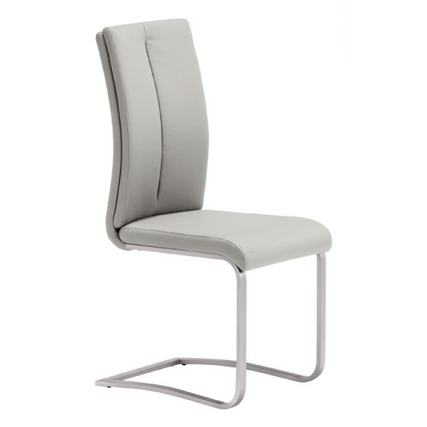 2 HomeRoots Rosemont Taupe Dining Chairs OCN-248683