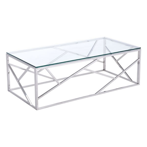 Perfect Home Roots Cage Stainless Steel Coffee Table