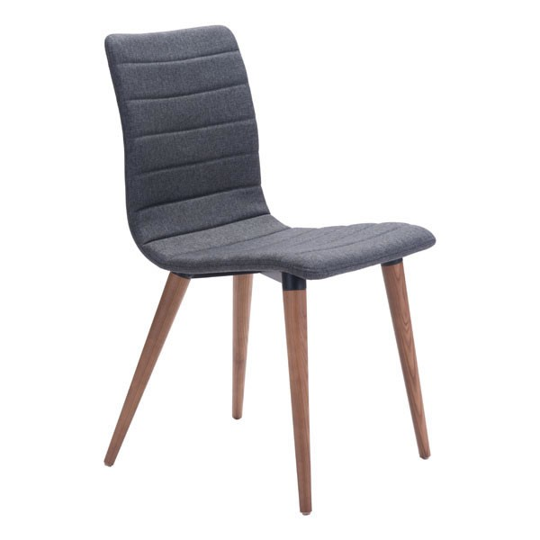 2 HomeRoots Jericho Solid Wood Dining Chairs OCN-24875-DR-CH-VAR2