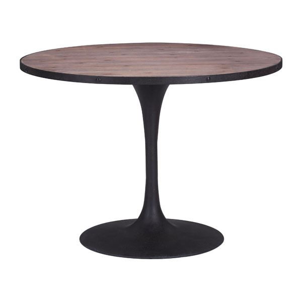 Homeroots Distressed Natural Dining Table OCN-248859