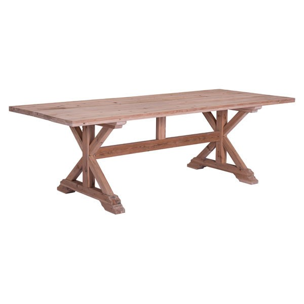Home Roots Alliance Distressed Natural Dining Table OCN-248861