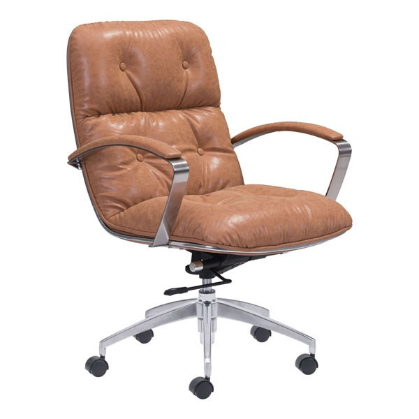HomeRoots Avenue Faux Leather Office Chairs OCN-24886-OCH-VAR