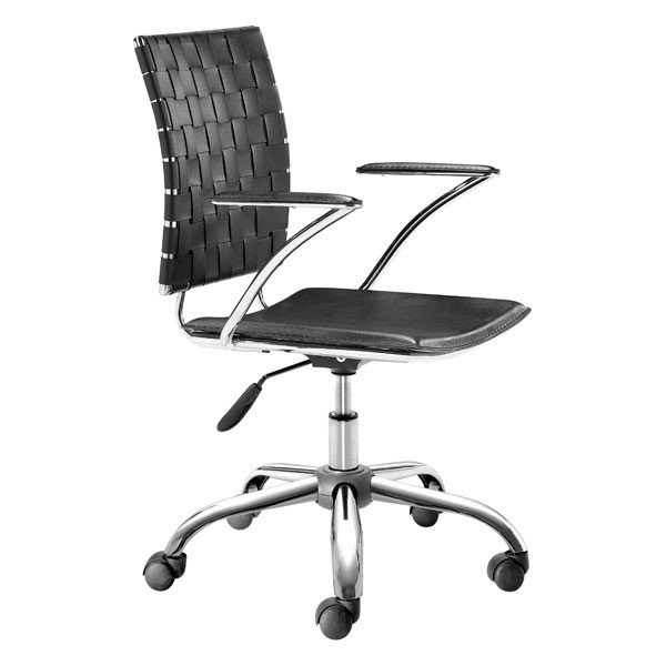 HomeRoots Faux Leather Metal Office Chairs OCN-24895-OCH-VAR