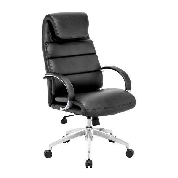 HomeRoots Faux Leather Headrest Comfort Office Chairs OCN-248975-OCH-VAR