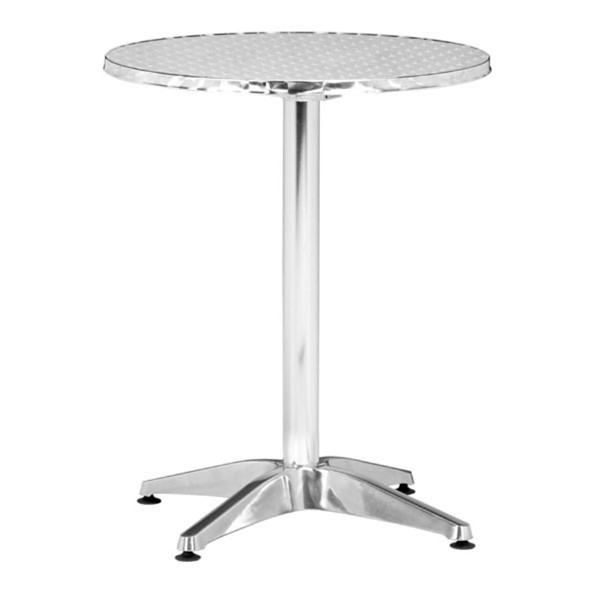HomeRoots Aluminum Folding Table OCN-249155