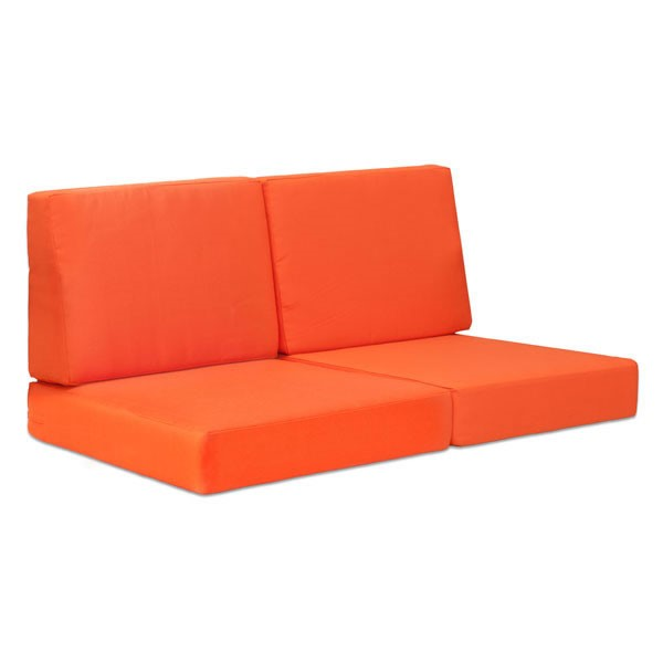 HomeRoots Cosmopolitan Orange Sofa Cushion OCN-249244