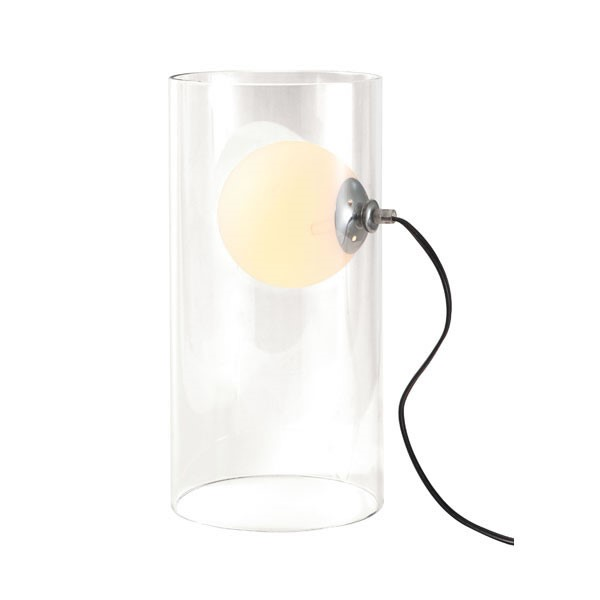Home Roots Eruption Clear Frosted Glass Table Lamp OCN-249358