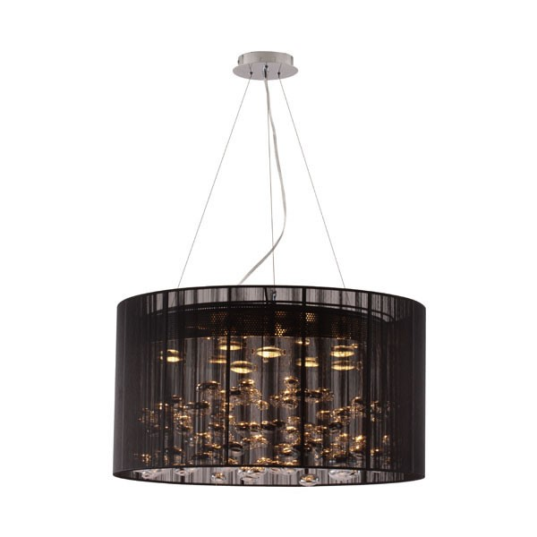 Ocean Tailer Black Symmetry Ceiling Lamp OCN-249361